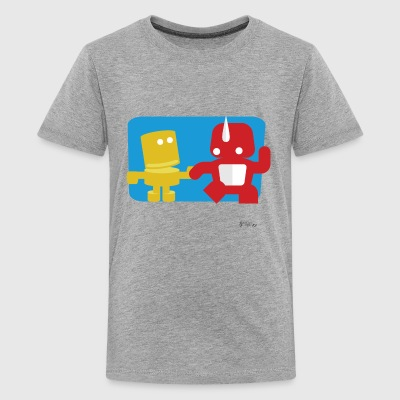 Monsters Holding Hands - Kids' Premium T-Shirt