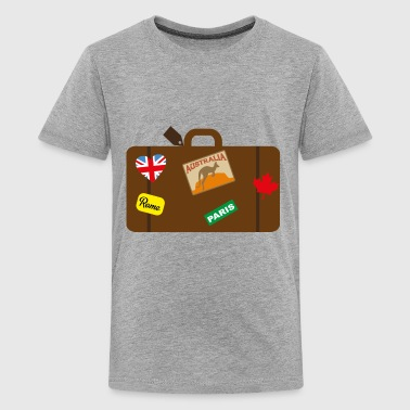 suitcase - Kids' Premium T-Shirt