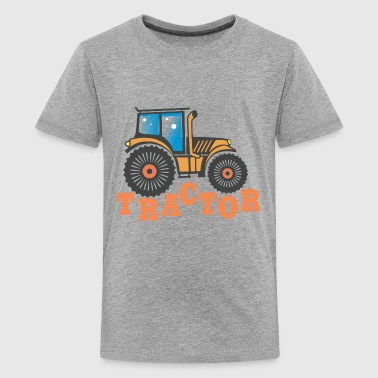 Tractor Funny - Kids' Premium T-Shirt