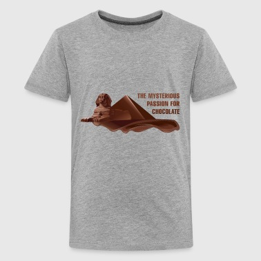 The Mysterious Passion For Chocolate - Kids' Premium T-Shirt