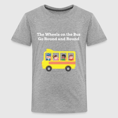 Yellow School Bus Kids - Kids' Premium T-Shirt