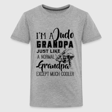 Judo Grandpa Just Like A Normal Grandpa Shirt - Kids' Premium T-Shirt