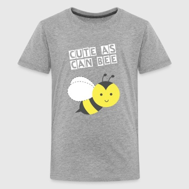 cute little happy bee - Kids' Premium T-Shirt