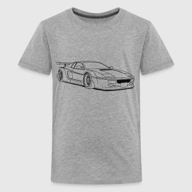 cool car outlines - Kids' Premium T-Shirt