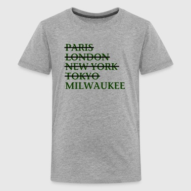 Milwaukee Wisconsin Funny Classic Apparel T-Shirts - Kids' Premium T-Shirt