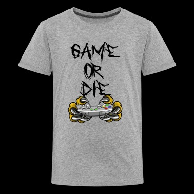 Game or Die - Kids' Premium T-Shirt