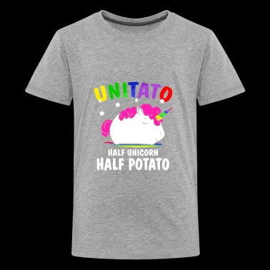Unitato Half Unicorn Half Potato T Shirt Gift - Kids' Premium T-Shirt
