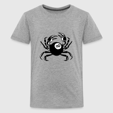 crab billiards club logo - Kids' Premium T-Shirt