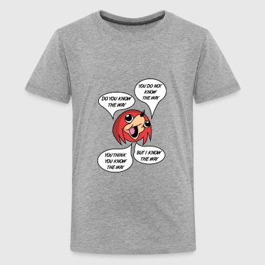 OBEY THE WAY Ugandan knuckles - Kids' Premium T-Shirt