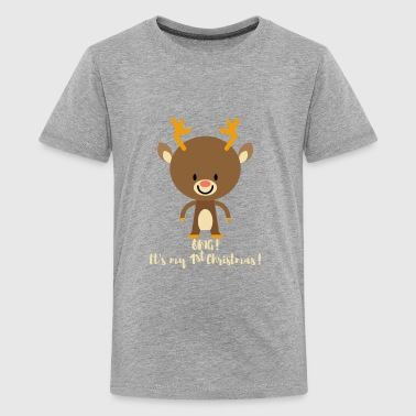 1st Christmas! Gifts for baby boy & baby girl.Deer - Kids' Premium T-Shirt