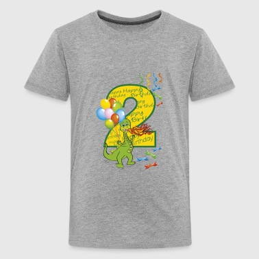 second birthday two 2 - Kids' Premium T-Shirt
