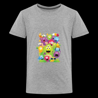Monster Party - Kids' Premium T-Shirt