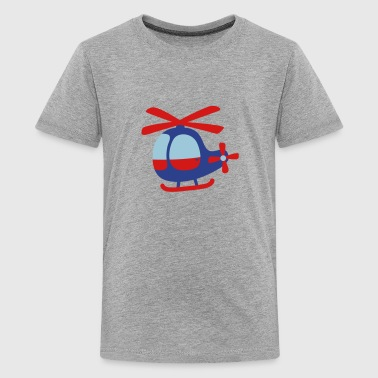 cute helicopter for kids - Kids' Premium T-Shirt