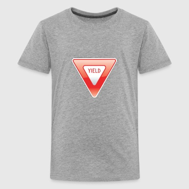 Yield Sign - Kids' Premium T-Shirt