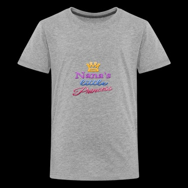 Nana's Little Princess Baby Toddler Kid's Shirt - Kids' Premium T-Shirt