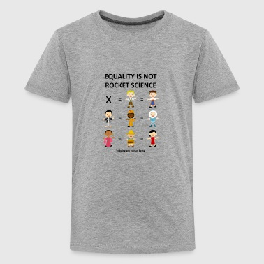 Equality is not rocket science - Kids' Premium T-Shirt
