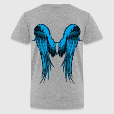 Blue Wings - Kids' Premium T-Shirt