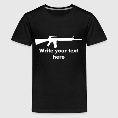 Assault Rifle - Kids' Premium T-Shirt