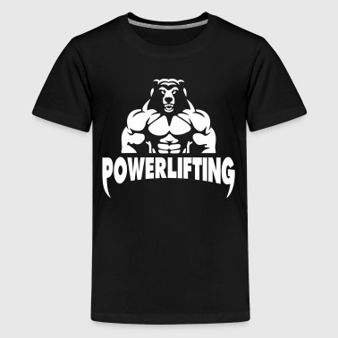 Powerlifting - Kids' Premium T-Shirt