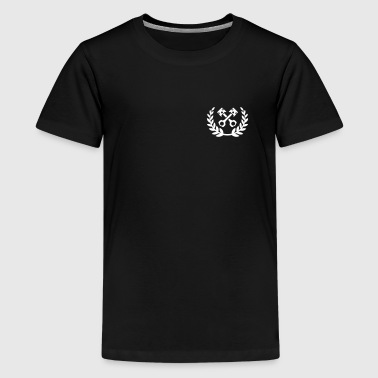 Tuning Race Cars - laurel wreath / piston - Kids' Premium T-Shirt