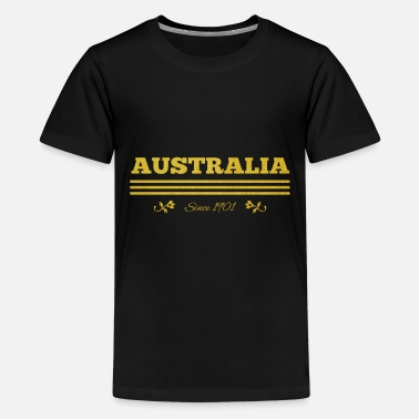 1901 golden AUSTRALIA since 1901 - Kids' Premium T-Shirt