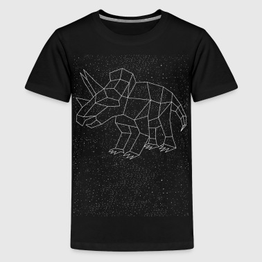 Triceratops Constellation - Kids' Premium T-Shirt