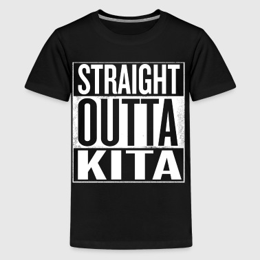 Straight outta Kita - Kids' Premium T-Shirt
