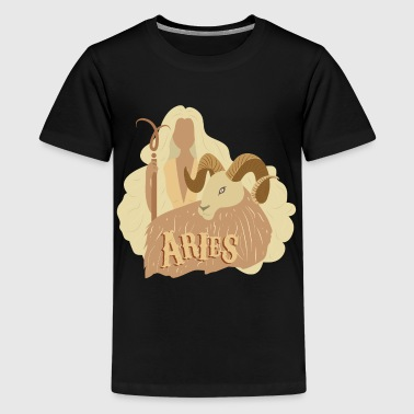 Zodiac - Aries - Kids' Premium T-Shirt