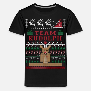 Rudolph Rudolph Ugly Christmas - Kids' Premium T-Shirt