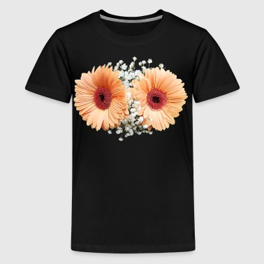 Pale Orange Gerbera Daisi - Kids' Premium T-Shirt