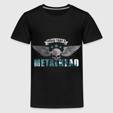 Proud to be a METALHEAD-0 - Kids' Premium T-Shirt