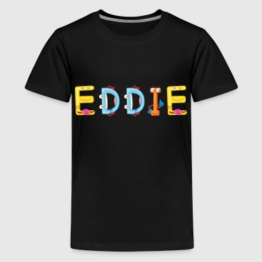 Eddied Eddie - Kids' Premium T-Shirt