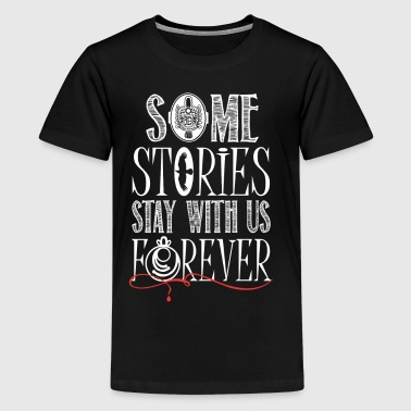 TVD. Some Stories Stay With Us Forever. - Kids' Premium T-Shirt