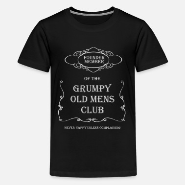 The Old Man Club Grumpy Old Man Club - Kids' Premium T-Shirt