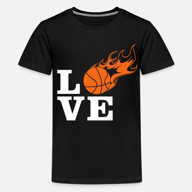 Vector-designs Basketball Vector Design - Kids' Premium T-Shirt