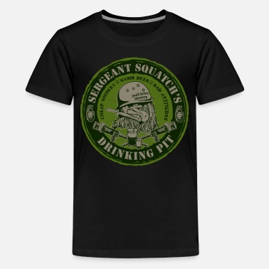 Bullet Hell Sergeant Squatch's Drinking Pit - Kids' Premium T-Shirt