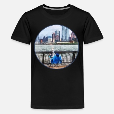 Promenade A Relaxing Day For Fishing - Kids' Premium T-Shirt