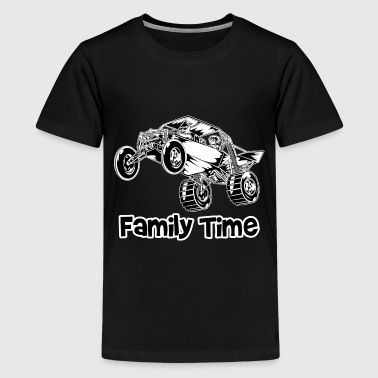 Dune Buggy Family Time - Kids' Premium T-Shirt