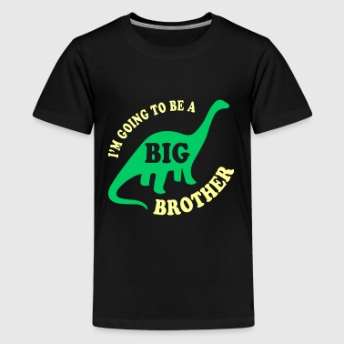 Big Brother Dinosaur - Kids' Premium T-Shirt