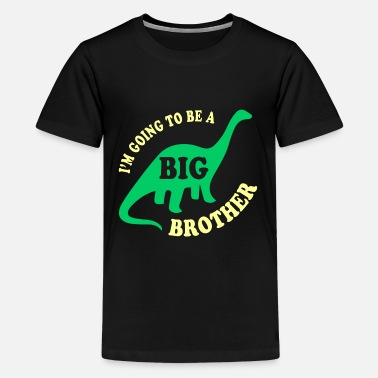 Big Brother Big Brother Dinosaur - Kids' Premium T-Shirt