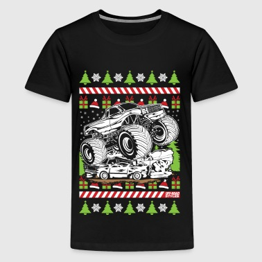 Ugly Christmas Monster - Kids' Premium T-Shirt