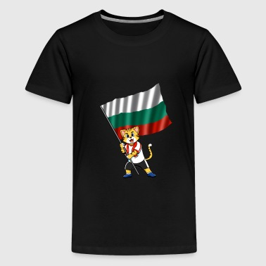Bulgaria fan cat - Kids' Premium T-Shirt
