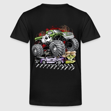 Mega Death Monster Truck - Kids' Premium T-Shirt
