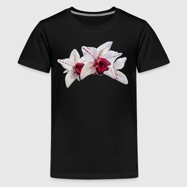 Cymbidium Baltic Dew Freckle Face - Kids' Premium T-Shirt