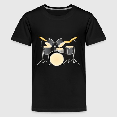 Drum Kit - Kids' Premium T-Shirt