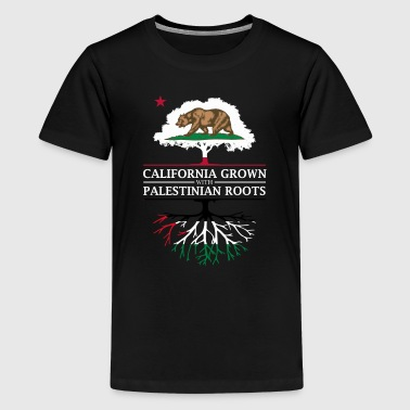 Palestinian California Grown with Palestinian Roots - Kids' Premium T-Shirt