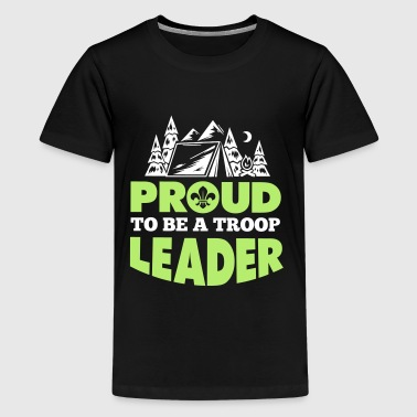 Proud to be a troop leader - Kids' Premium T-Shirt