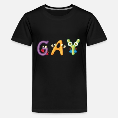 Gay As Fuck Gay - Kids' Premium T-Shirt