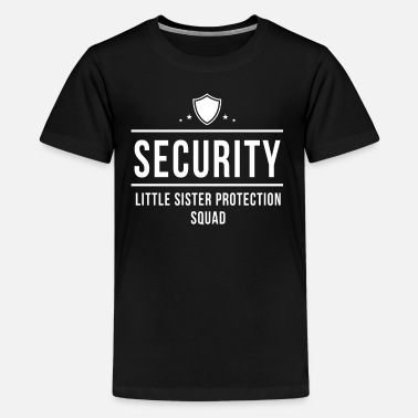 Big Brother Security Security Little Sister Potection Squad - Kids' Premium T-Shirt