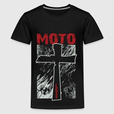 Dirt Bike Christian - Kids' Premium T-Shirt